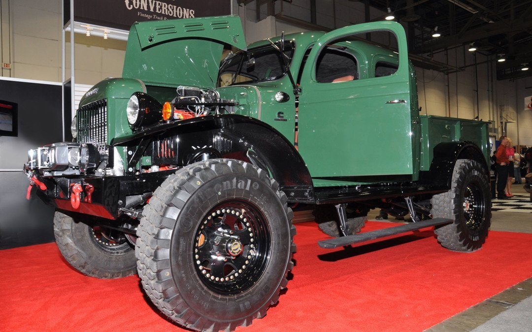 Dodge Power Wagon's enduring fascination. It's the benchmark of Cool!