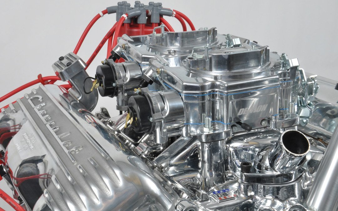 Evil twins: first twin 625 Street Demon carbies on the first new 409 hotrod engine