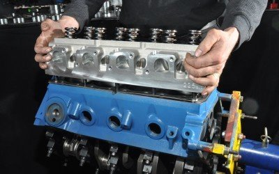 How Clever Induction Systems Build Potency in World's First Aftermarket Cleveland Crate Engine—The Titus