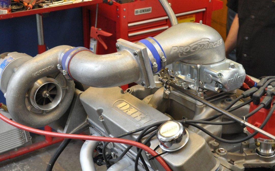 Blow-through carburetors: 650, 750, & 850cfm Mighty Demons