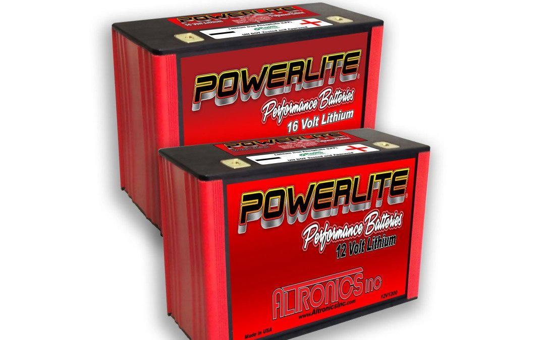 Altronics latest Powerlite lithium batteries