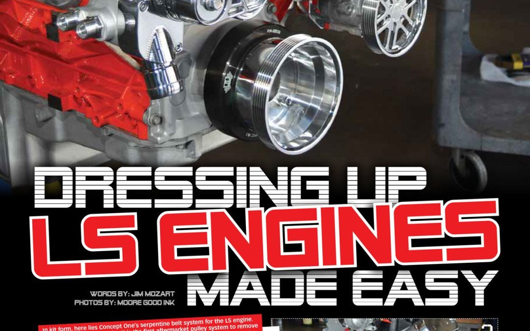 Dressing Up LS Engines, Made Easy!