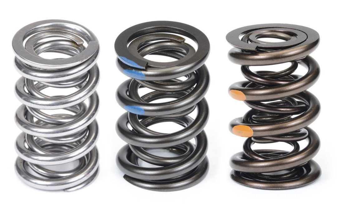 Racing valve springs: Sound rules to remember