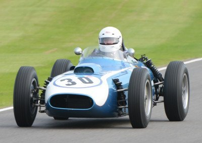 Julian Bronson's 1960 Scarab-Offenhauser, originally created by Lance Reventlow
