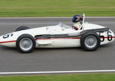 Wolf Dieter Baumann's 1956 Maserati 250F, 2498cc straight-six