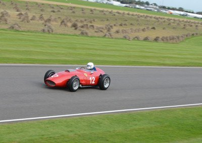 Steve Tillack's illustrious 246 F1 Ferrari Dino, the first F1 race car fitted with a V6 engine.