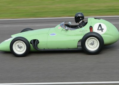 Barrie Baxter's 1959 BRM Type 25, 2499cc 4cyl twin cam