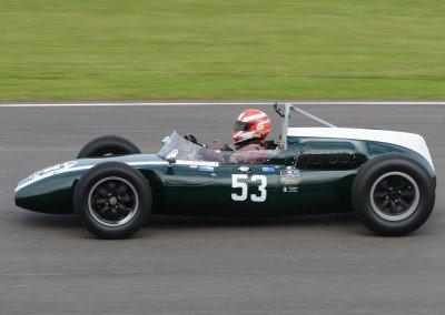 1960 Cooper-Climax T53 designed by Owen Maddock: McLaren's F1 challenger