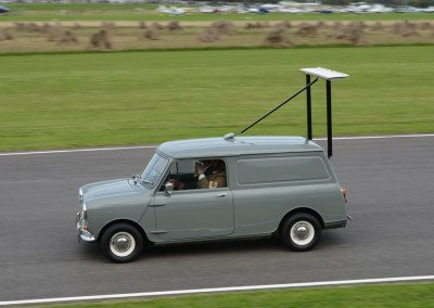 1968 Minivan used to test wings; apparently loadings recorded via bathroom scale!