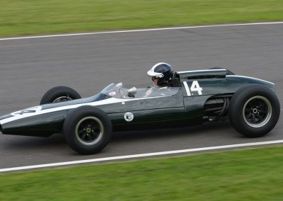 1961 Cooper T60 which brought McLaren to third in the F1 driver's championship
