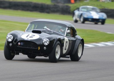 1963 AC Cobra 4727cc, Ludovic Caron and Touring Car racer Anthony Reid, finished 6th