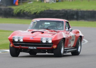 1966 Chevrolet Corvette Sting Ray 5343cc, Joe Calleja/John Bowe