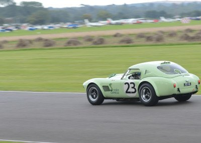 1964 AC Cobra 4727cc, Joe Twyman/Jas Cottingham, finished 4th