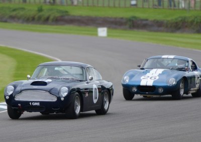 1960 Aston Martin DB4GT & Shelby Cobra Daytona Coupe at Fordwater