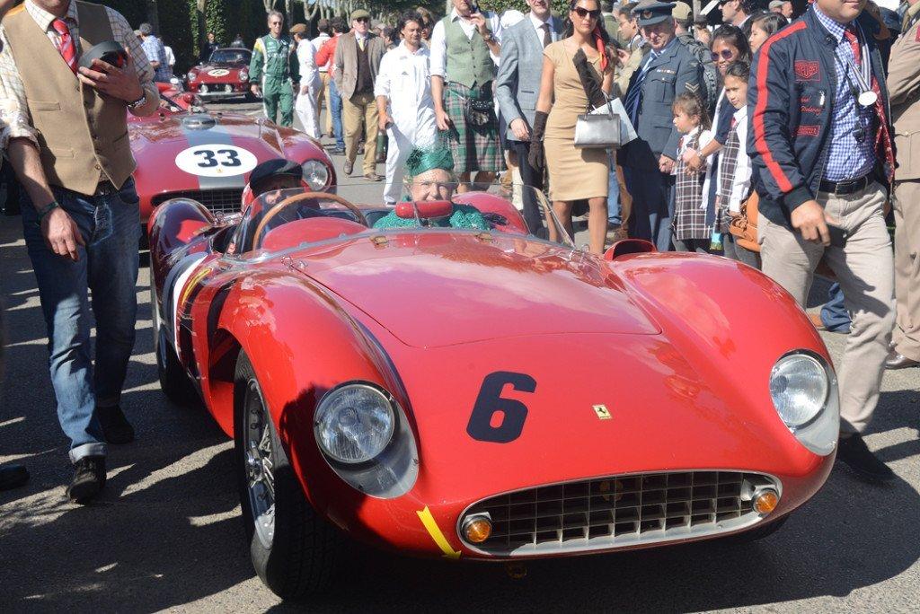 1957 Ferrari 500 TRC 1985cc, Ernst Schuster