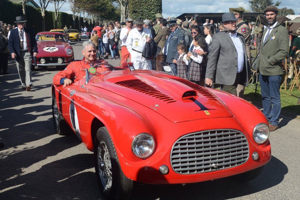 1950 Ferrari 166 MM Barchetta 1992cc, Robert van Zyl