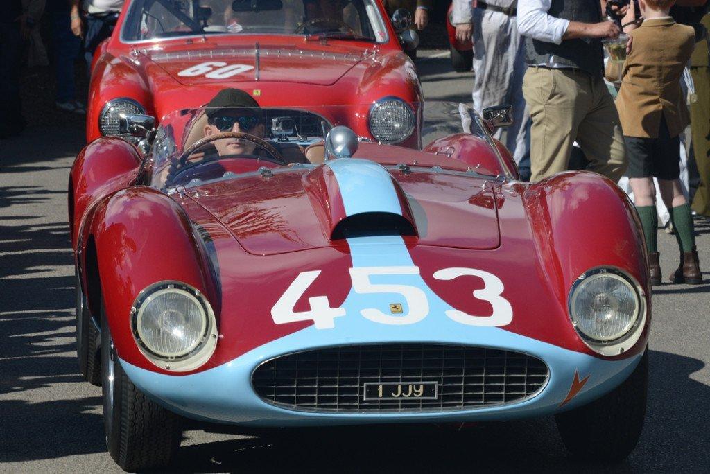 1957 Ferrari 500 TRC 1985cc, Jason Yates