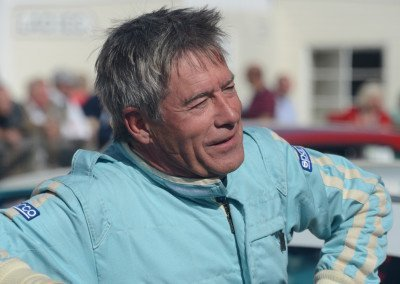Former F1 driver & TV co-host (Fifth Gear) Tiff Needell, Jaguar MKII, 21st in 30-car field