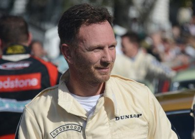 Mini Cooper driver & Red Bull Racing F1 team Principal Christian Horner: 15th place