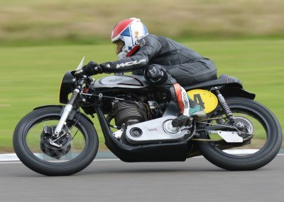 One day you're a young GP prospect whizzing along without a care in the world, the next you're 65. Charlie Williams: eight-time Isle of Man TT winner