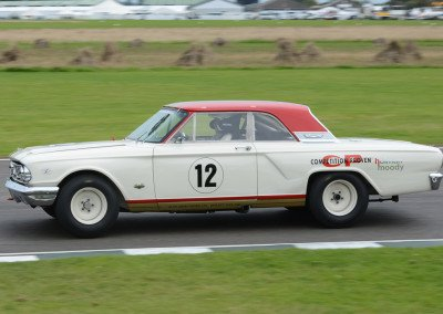 9-time Le Mans victor, Tom Kristensen won the trophy in a Ford Fairlane Thunderbolt.