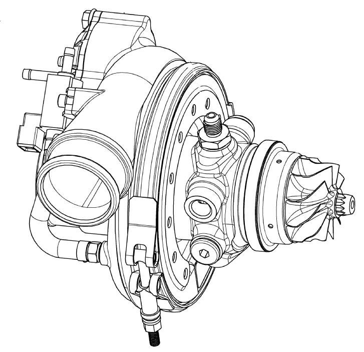New Turbo Core Assemblies From Borgwarner