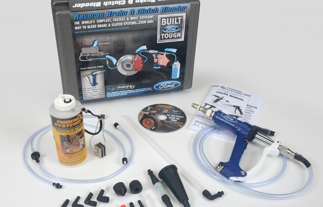 Ford approves two new brake bleeders from Phoenix Systems