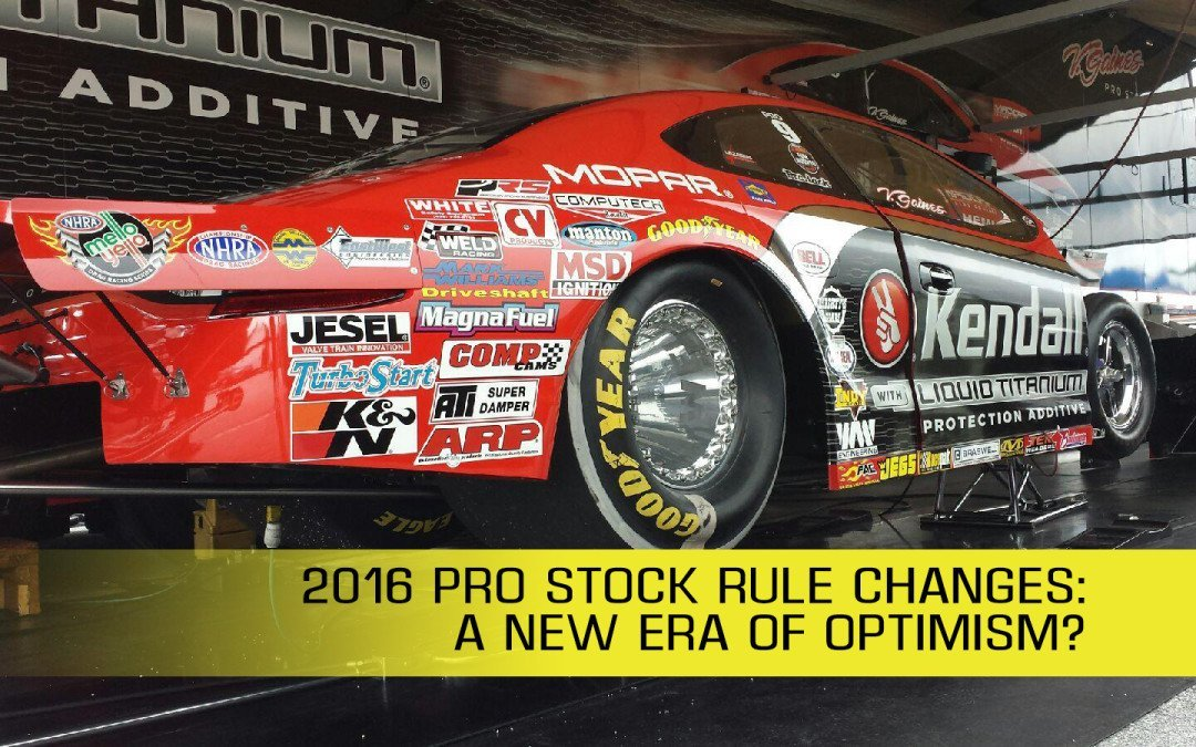 NHRA rule changes introduce new era of Pro Stock optimism