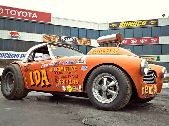 Bob Ida resurrects his famous Hemi Healey gasser of the 60s