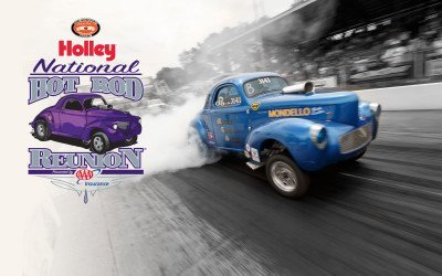The 14th annual Holley National Hot Rod Reunion®