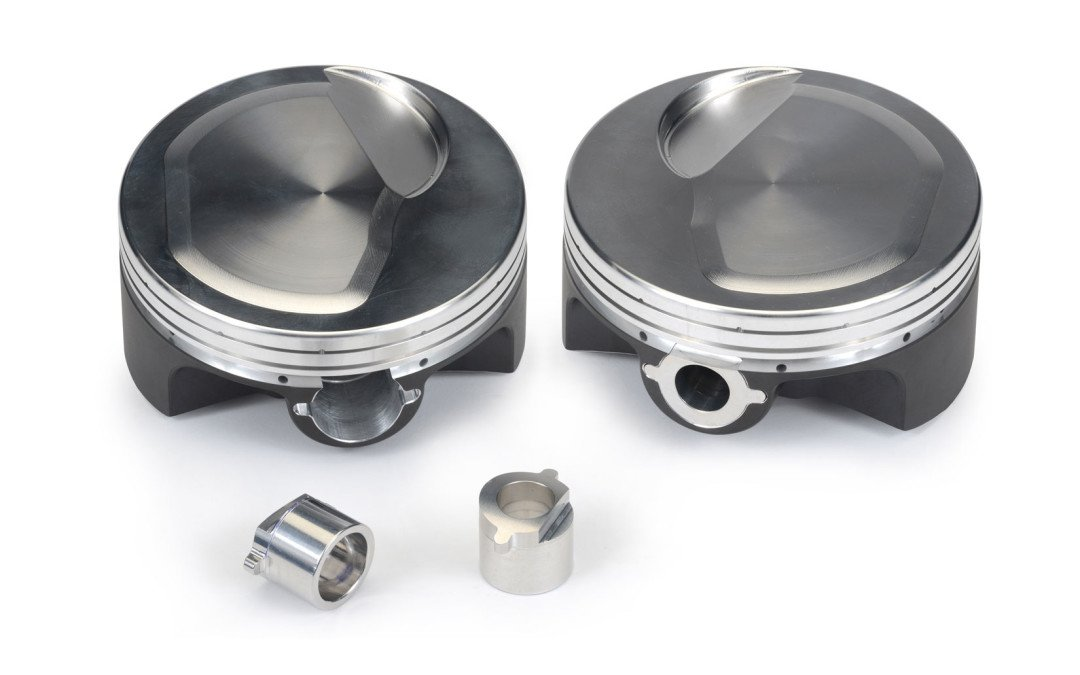 Unique buttons: piston pin retention designs for Pro Mod and big turbos