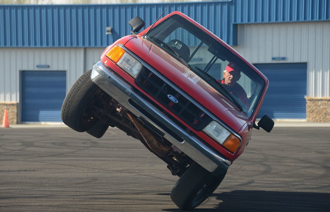 Ever thought of stunt car driving?