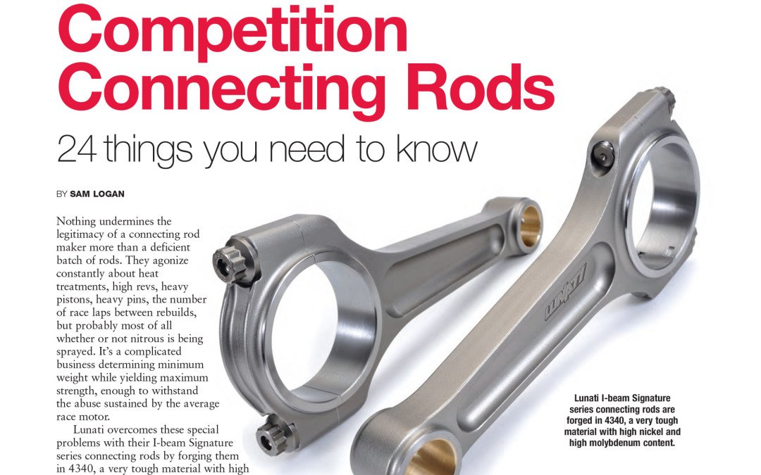 Competition Connecting Rods
