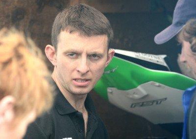 'Mullingar Missile' Derek McGee placed third in last year's Superbike championship behind Wm. Dunlop & Derek Sheilds