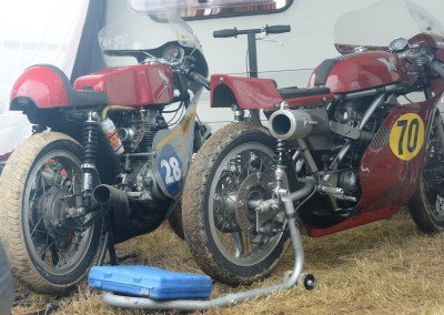 On the Emerald Isle, classics race bikes, often in period loveliness, are in regular use—July 2016 features four racing weekends.