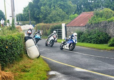 Narrow lanes, wet white lines and numerous other considerations are all part of the Irish Road Racing Championship