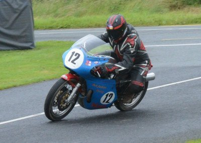 Riding Bob Jackson's 920cc Norton, Lancastrian Richard Ford won the Classic 500-1000cc with admirable smoothness.
