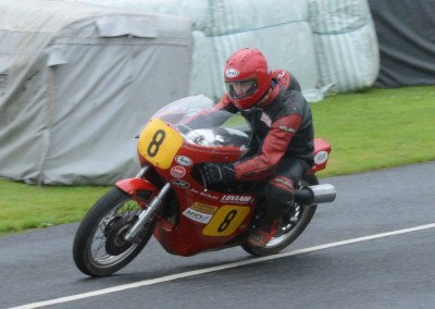 Isle of Man native Allan Brew claimed second–excellent result for small displacement Seeley GSO496