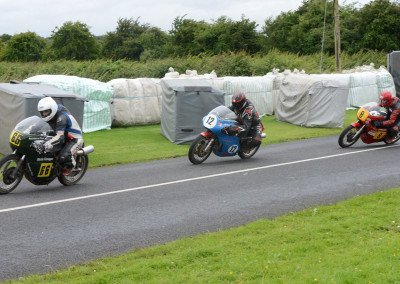 Add Ed Manly's diminutive 350 Honda to the Classic mix and close racing ensued between the first three finishers