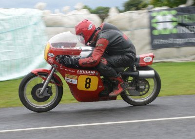 Competing in IOM TT races since 1978, Brew now embraces Classic bike racing