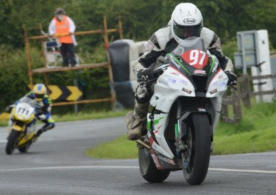 Ballymoney rider Seamus Elliott secured fifth place on his 1000cc Kawasaki ZX10R
