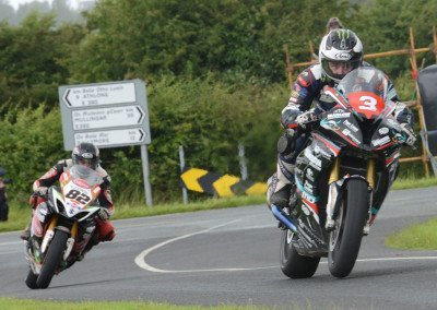 And it seemed it would end this way: Michael Dunlop winning the Open event and the Grand Final