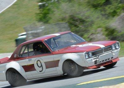 DSC_1305R: Winner McDowell / Hermalyn - 1971 Nissan Skyline, best lap 1:39.3