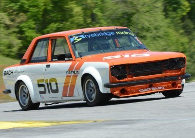 DSC_1342: John Coyle, UK - '71 Datsun 510, 2nd in Nissan Feature race, 1:46.6