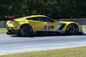 Petit Le Mans: C7 crashes pit exit, finishes 8th, claims 2nd consecutive GT title, throws party