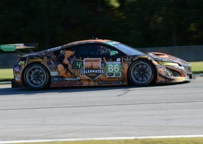DSC_3310: Acura NSX finished second, despite intense pressure by Alvaro Parente