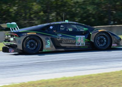 Lead-GTD-DSC_3031: The Lamborghini Huracan finished 3rd & claimed GTD title