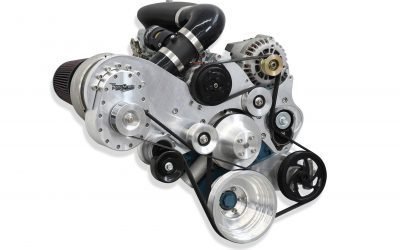 TorqStorm introduces centrifugal supercharger kit for Small-block Mopars 1967 to '93.